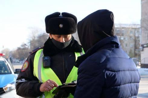Житель Жезказгана привлечен к ответственности за подделку номера на транспорте